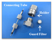 Connecting Tube, Holder, Guard Filter